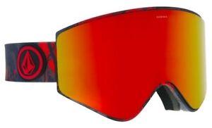42127c334733 NEW Electric EGX Volcom Brose Red Mens frameless ski snowboard ...