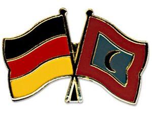 Deutschland-Germany-Malediven-Freundschaftspin-Metal-Pin-Anstecknadel