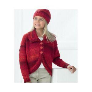 779263695cc9 Knitting Pattern James C Brett JB210 Children s DK Cardigan   Hat