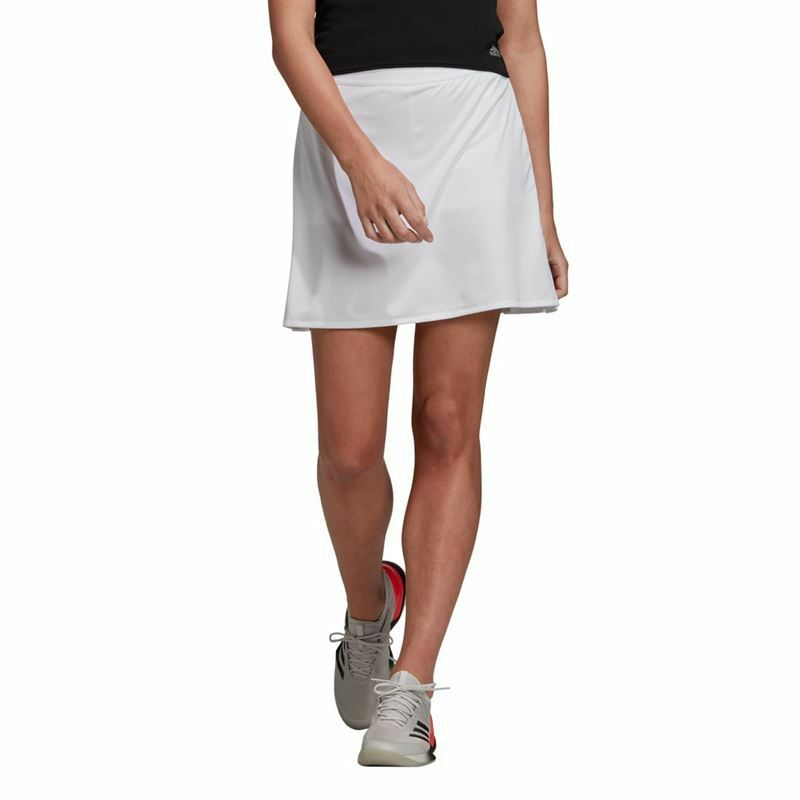 Adidas Tennis Womens Club Long Skirt White - DW8694