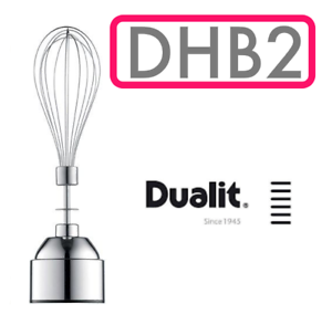 Dualit DHB2 Fouet Fixation Whisker Mixeur Batteur Beat Rotary Handheld Cook NEUF