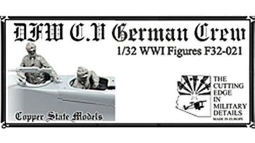 1:32 Copper State Models #F32-021 DFW C.V german crew
