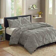 Bedding Queen Discount Comforter Sets Full Size Ensembles Mini Set 3 Piece Grey