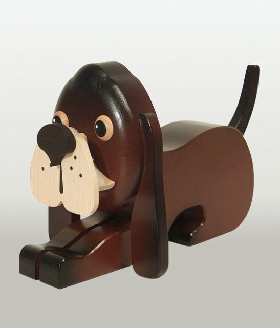 Kuhnert Brillenhalter Hund braun, 80015 | Feinbearbeitung