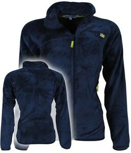 Felpa-GEOGRAPHICAL-NORWAY-Full-Zip-Anapurna-donna-Ursula-soft-pile-pettinato-new