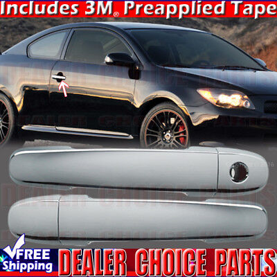 For 2008-2010 Scion XB//XD//TC Mirror Chrome Door Handle Cover Cap Trim Kit 8-Pcs