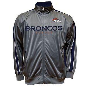 BRAND-NEW-NFL-Majestic-Denver-Broncos-Tricot-Track-Jacket-Coat-Men-LT ...