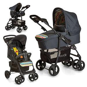 hauck kombi kinderwagen set 3in1 shopper slx babyschale disney winnie pooh ebay. Black Bedroom Furniture Sets. Home Design Ideas