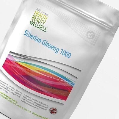 SIBIRISCHER GINSENG 250-1000 Tabletten (V)  á 1000 mg Taigawurzel Potenz Energie