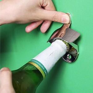 3X Retro Wall Mounted Bottle Beer Coke Cap Metal Fixed Opener Bar Kitchen Craft