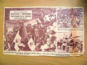 1970 World Cup Press Cutting Y en el estadio Toluca 1970 ni se diga las ensen - ilford, Essex, United Kingdom - 1970 World Cup Press Cutting Y en el estadio Toluca 1970 ni se diga las ensen - ilford, Essex, United Kingdom