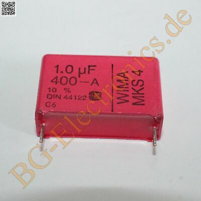 2 x FO R 0.47uf//100v//rm7.5//mks4 Film Capacitor Capacitor WIMA 2pcs