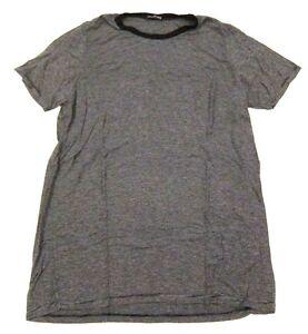 6c22e097992 Brandy Melville Cassie T Shirt Black & Gray Mini Stripes One Size ...