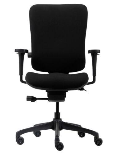 Venice WorkPro Office Task Operator Chair Tilt Black Fabric BUILT Graded 95/%