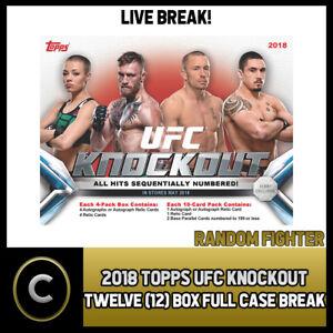 2018-TOPPS-UFC-KNOCKOUT-12-BOX-FULL-CASE-BREAK-M001-RANDOM-FIGHTERS