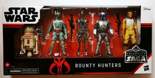 Star WARS HASBRO Bounty Hunters Pack celebrate the Saga