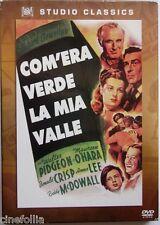 Dvd Com'era verde la mia valle - ed. slipcase di John Ford 1941 Usato