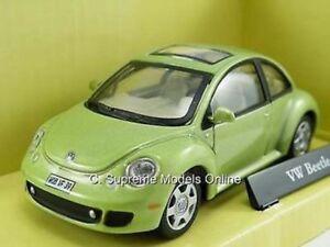Image Is Loading Volkswagen Beetle Car Model Green Vw 1 43rd