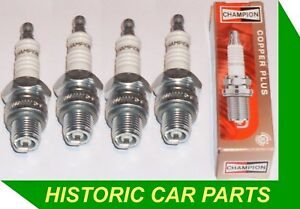 Ford-Anglia-100E-SALOON-Side-Valve-1172cc-1953-58-4-CHAMPION-SPARK-PLUGS