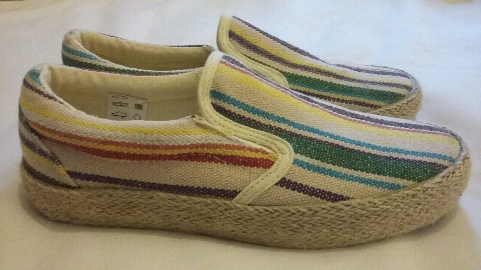 MANOUSH Espadrilles Slip-on Sneakers Größe uk 5 eu 38