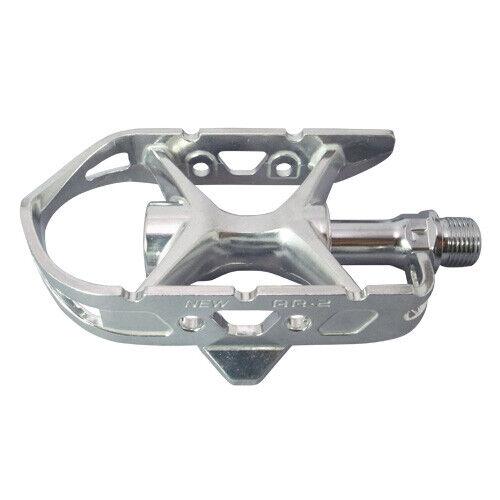 MKS AR-2 Ezy Pedals 9//16 Classic Road Bike Fixed Gear Track Pedal Silver//Black