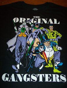 96f25c8dcc19 BATMAN VILLAINS JOKER CAT WOMEN RIDDLER PENGUIN Dc Comics T-Shirt ...