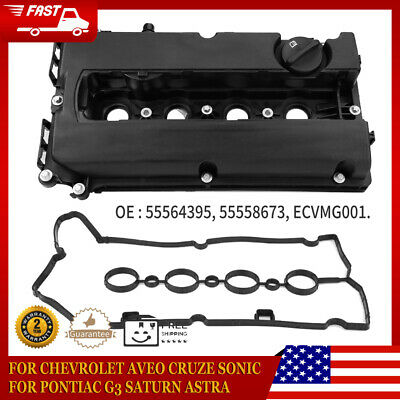 Car Engine Valve Cover With Gasket Fit for Chevrolet Sonic Cruze 55564395 US