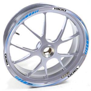DEDE-Felgenaufkleber-Yamaha-Silber-FJR-1300-FJR1300-Blau-felgenrand-aufkleber-fe