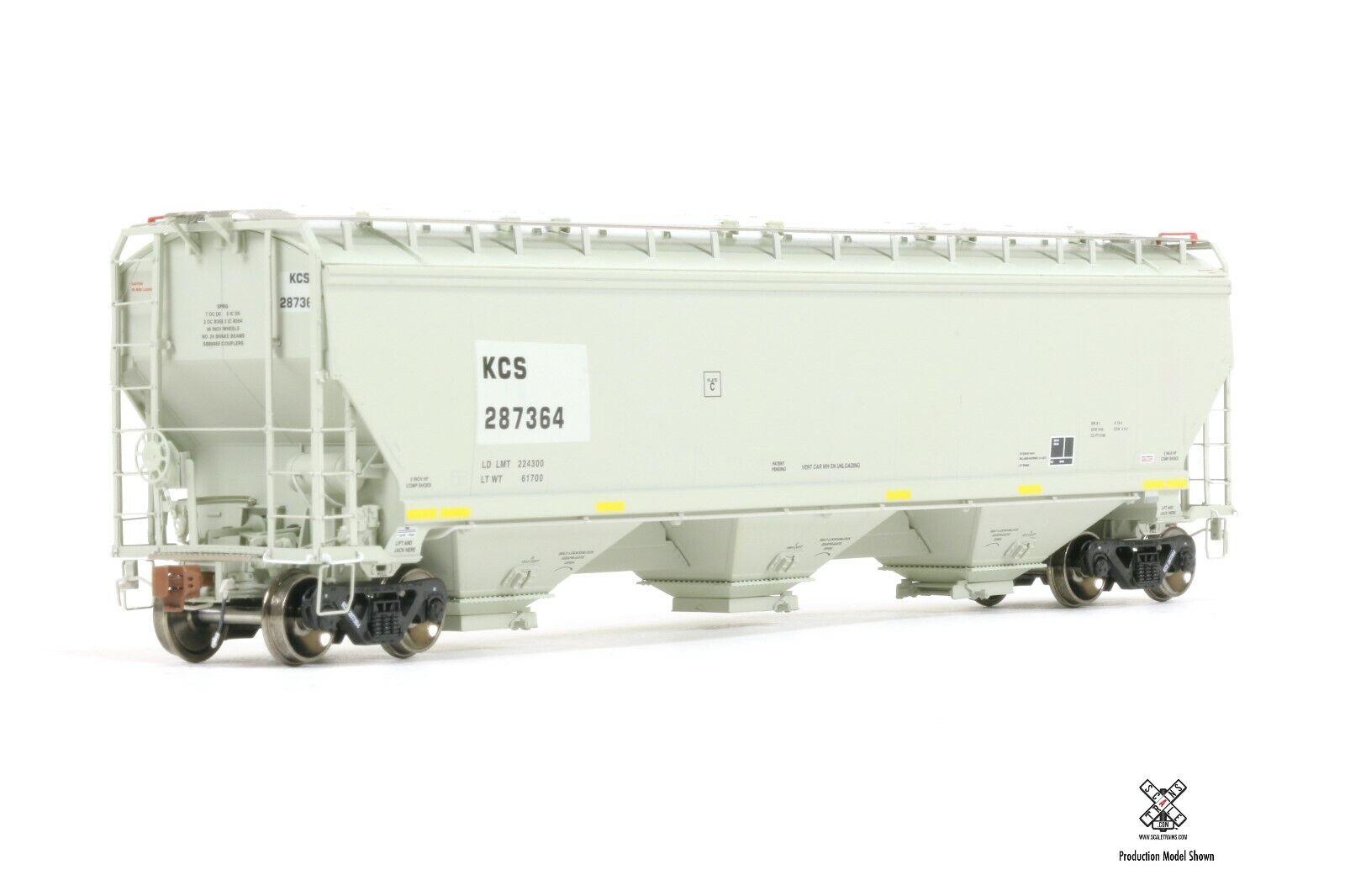 SCALETRAINS HO SXT31580 Gunderson 5188 Covered Hopper SOXX ex BNSF #484575
