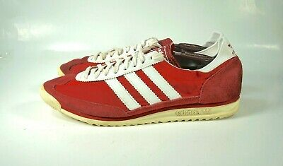 buy online d1976 0131f Rare Adidas SL72 Retro Red Vintage Trainers Shoes Men's size 11.5 G14001