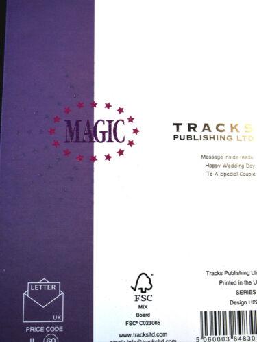 Mariage Carte par pistes Publishing 18 Disponible-multi annonce.
