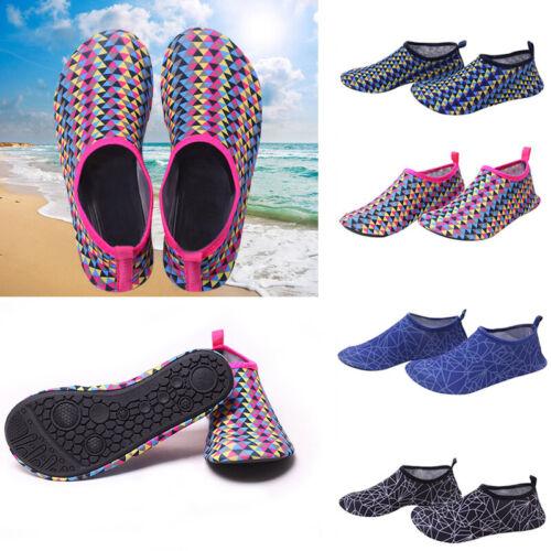 Women Men Water Shoes Aqua Socks Diving Socks Non-slip Swim Beach Slip On Surf
