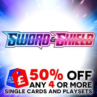 4x Galarian Meowth Playset 127//202 Sword and Shield Pokemon TCG Steel