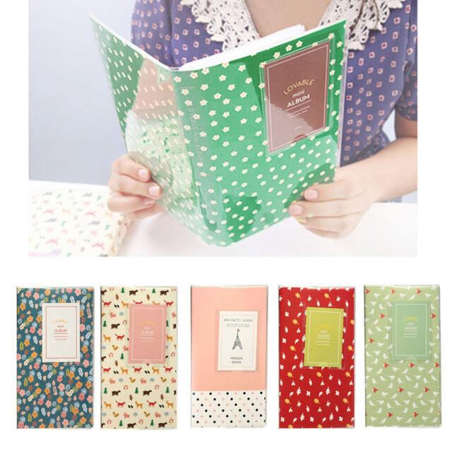 84 Pockets Lovely Photo Album Storage Holder for Polaroid Fujifilm Instax Mini N