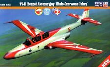 PZL TS-11 ISKRA POLISH AF DISPLAY TEAM MARKINGS 1/72 MISTERCRAFT LIMITED EDITION