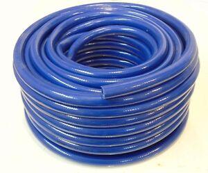 Details about Food Grade Blue PVC Hose Pipe - Flexible Braided Reinforced -  Caravan Motorhome