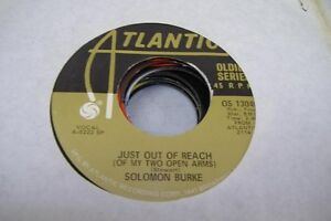 Blues-Nm-45-Solomon-Burke-Just-O-Of-Reach-Of-My-Two-Open-Arms-Release-Me