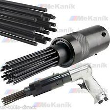 Air Descaler Needle Gun Kit Fits Air Hammer Removes Paint, Rust 19 Pin UNIVERSAL