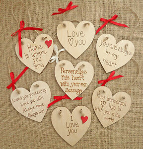 San Valentino Shabby Chic.Details About Personalised Love Heart Shabby Chic Valentine Wedding Christmas Birthday Gift