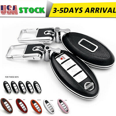 Black+Red Silicone Key Cover for for Nissan Altima Maxima Sentra Armada for Infiniti EX35 FX35 FX45 G35 QX45 Key Fob Case