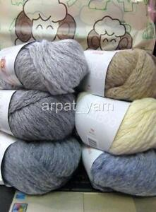 Sirdar Big Bamboo Super bulky wool Knitting Yarn +Scarf pattern eBay