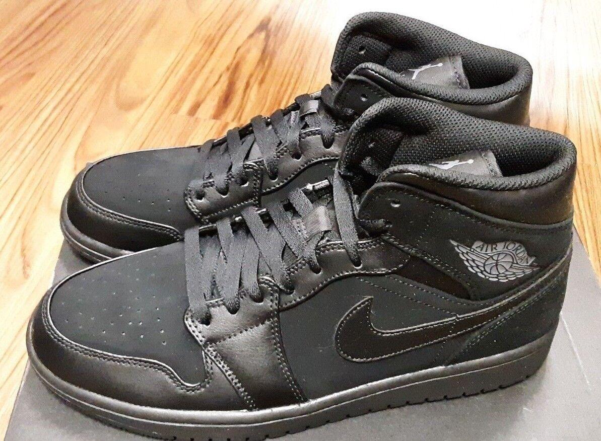 554724-050 JORDAN Retro 1 Mid Nero Uomo Casual Shoes