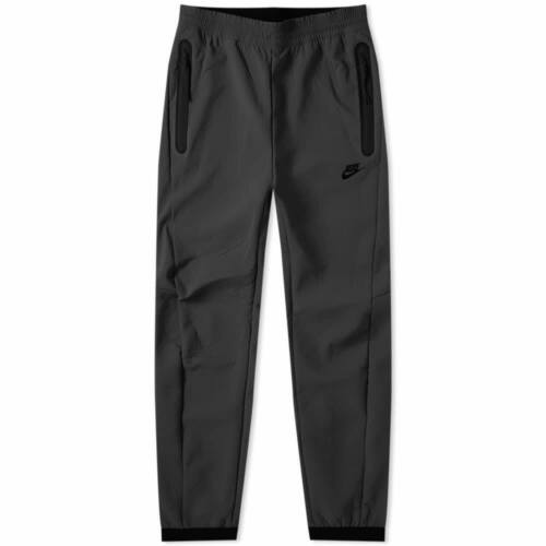 Nike Tech Pack Textured Woven Pants Joggers TRIPLE ALL BLACK 928573-010 Men/'s