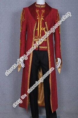 Legend of the Seeker Darken Rahl Coat Vest Costume Cosplay Cos