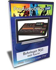Behringer X32 DVD Video Training Tutorial