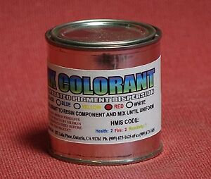 Details about RED COLORANT PASTE 4 EPOXY RESIN COLOR PIGMENTING TINTING  COLORING FOR ART POUR^