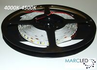 24vdc Smd2835 Led Strip 4000k-4500k, 5m (80w, 600leds), Ip20, 120leds/m, 16w/m