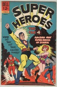 Super-Heroes-1-January-1967-VG-First-Issue