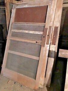 Vintage wooden screen doors | eBay