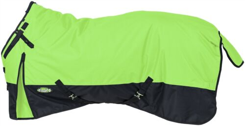 """69/""""-84/"""" 250 Grams Details about  /Winter Horse Snuggit Turnout Blanket 600D Neon Green"""